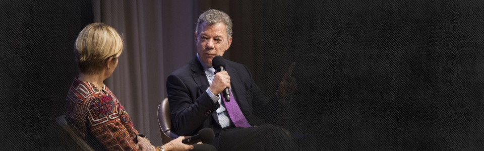 A Conversation with Former President Juan Manuel Santos